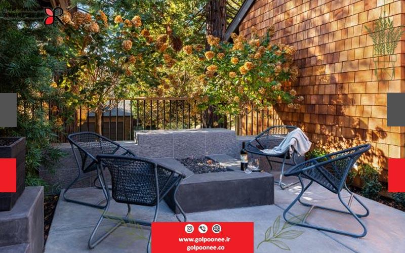 طراحی فضای سبز حیاط خانه