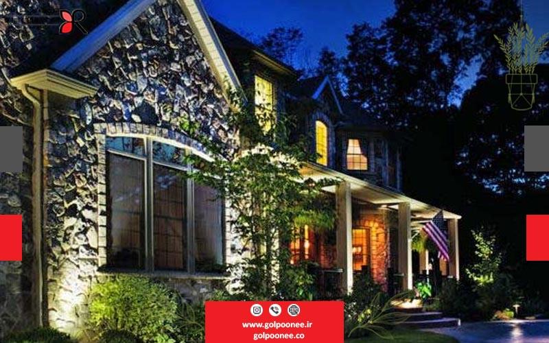 نورپردازی در طراحی فضای سبز