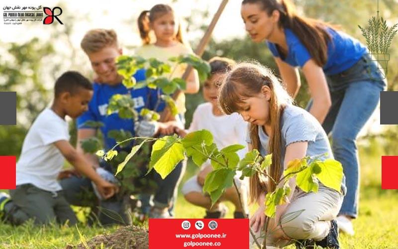 ایجاد هوای پاک در مدارس با طراحی فضای سبز