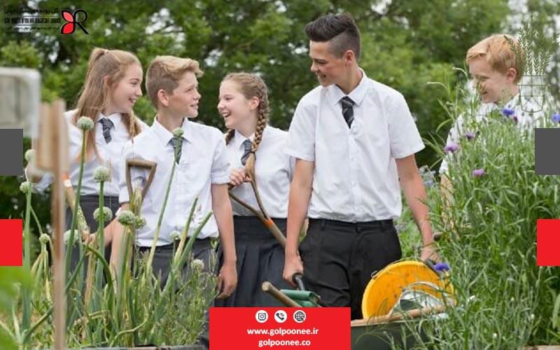 کاهش سطح استرس با ایجاد فضای سبز در مدارس
